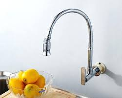 wall mount kitchen faucet single handle wall mount kitchen faucet wall mounted kitchen faucet single