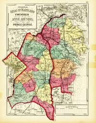 Maryland Counties Map Maryland New Topographical Atlas Of The State Of Maryland
