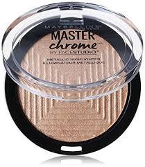Maybelline Master Chrome maybelline studio master chrome metallic highlighter molten