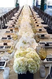 Hydrangea Centerpiece Gorgeous Long Hydrangea Centerpiece B Lovely Events