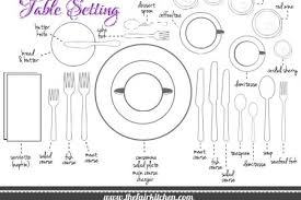 how do you set a table properly catchy formal table settings with the classy woman manners monday