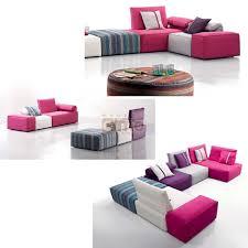 canapé chauffeuse modulable canapé d angle canapé tissu modulable design contemporain