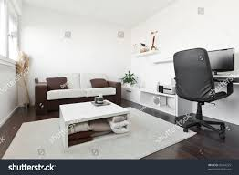 Sofa Computer Table by Modern Living Room Computer Desk Screen Stock Photo 92464225