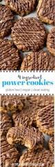 Four Ingredient Power Cookies Gluten Free A Clean Bake