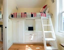 bureau 2 places lit sureleve bureau lit pour enfant peu encombrant mezzanine