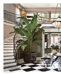 kris jenner home interior plant as focal pointpoint jenner home california