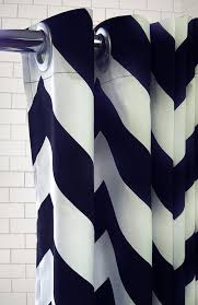 Chevron Navy Curtains 134 Best Shower Curtains Images On Pinterest Bathroom Ideas Kid