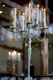 used wedding centerpieces silver candelabras can be used as a more budget friendly
