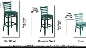 what is the height of bar stools spectacular idea height of bar stools 6 585x329 gif
