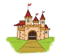how to draw a cartoon castle in a few easy steps easy drawing guides