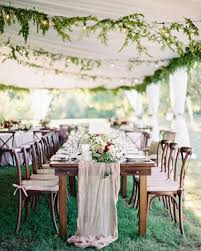 wedding reception tables wedding that ll keep guests laughing martha stewart