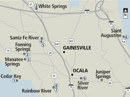 Gainesville Map Kayaking And Canoeing Guide News Gainesville Sun Gainesville Fl