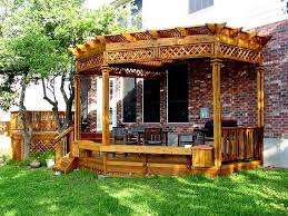 Deck Plans With Pergola by Deck Pergola Pictures Deck Design And Ideas