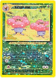 vileplume southern islands 17 card