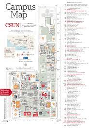 Cal Map Contact Us U003e Visit Tseng College Cal State Northridge Csun