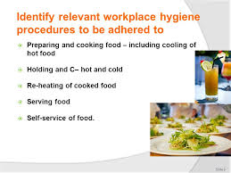 hygi e en cuisine comply with workplace hygiene procedures ppt