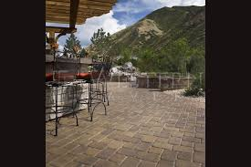 large patio pavers decorating wonderful swimming pool surrounded by cozy paver by