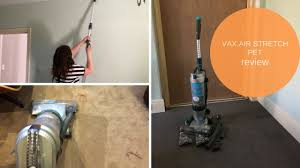 Vax Vaccum Cleaner Vax Air Stretch Pet Vacuum Cleaner Review Youtube
