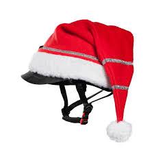 weihnachtsmütze für reithelm