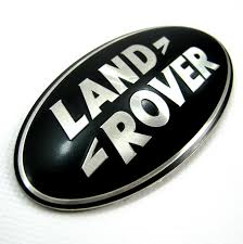 land rover lr3 black land rover discovery 3 black silver rear door oval badge upgrade