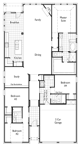 Floor Plan For New Homes Plan 539 By Highland Homes Long Meadow Farms