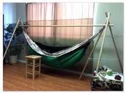 bamboo innovations diy bamboo hammock stand boho chik
