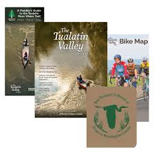 Oregon Wine Country Map by Maps U0026 Visitor Guide Form Tualatin Valley