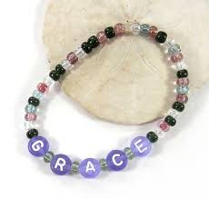 Beaded Name Bracelets 161 Best Jewelry Bracelets For Anyone Images On Pinterest
