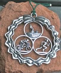 triathlon ornaments triathlon stuff