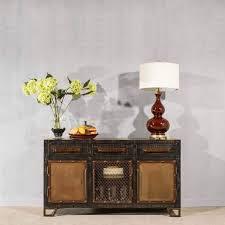 wine rack console table hillsdale bridgewater 5 drawer wine rack console table in black wood