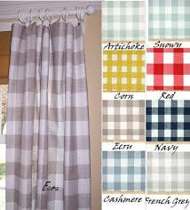 enchanting buffalo plaid curtains and 96 best buffalo check images