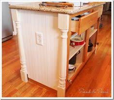 how to add a kitchen island molding bead board kitchen board and