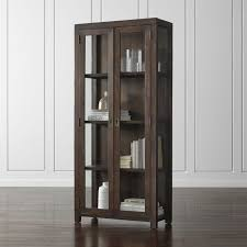 Bookcase With Doors Bookcase Hutches Crate And Barrel
