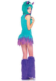Halloween Monster Costumes amazon com leg avenue women u0027s fuzzy frankie monster costume clothing