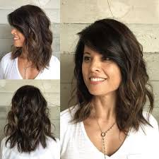 hairstyles for wavy hair low maintenance 80 sensational medium length haircuts for thick hair brunette