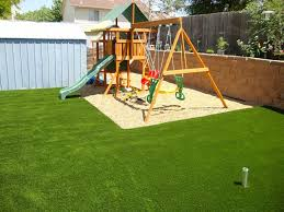 Kid Backyard Ideas Backyard Kid Friendly Backyard Without Grass Poured Rubber