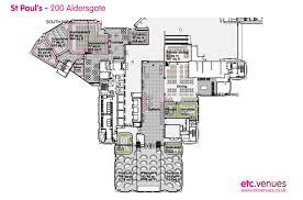 St Pancras Floor Plan Conference And Event Venue St Pauls Aldersgate London Etc Venues