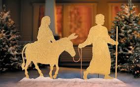 nativity outdoor decoration best celebration day