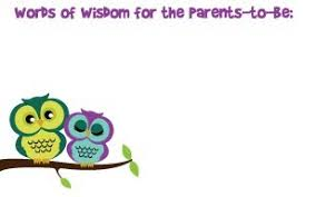 words of wisdom cards baby shower words of wisdom sorepointrecords