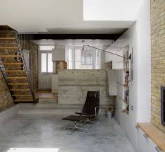 remodelling a victorian terrace homebuilding renovating the converted basement with polished concrete floors