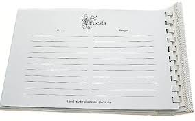 wedding guest book pages history of the wedding guestbook say fromage