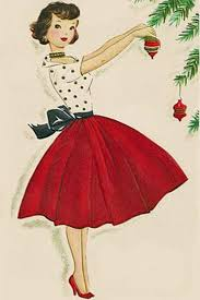 vintage cards vintage christmas cards paint the gown