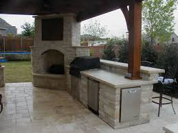 Covered Outdoor Kitchen Designs by Fireplace And Bbq 11 Watchreplicahome