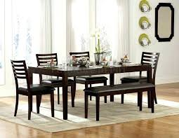 modern kitchen table with bench new in classic white dining
