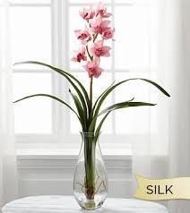 cymbidium orchid smithsonian silk mauve cymbidium orchid beaudry flowers