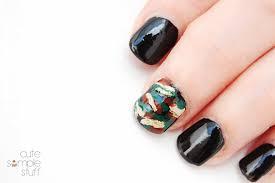 cute simple stuff halloween nail art ideas 2013