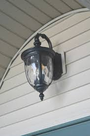 Front Door Light Fixtures by Curb Appeal Challenge Adding Lights And Decor U2022 Our House Now A Home