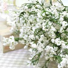 silk baby s breath 20pcs lot 1200 heads new bulk single silk babys breath artificial
