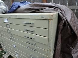 blueprint flat file cabinet lot detail 5 drawer safco map blueprint flat file cabinet