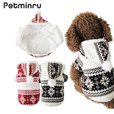 teddy clothes petminru hot selling winter pet clothes cozy snowflake soft dog